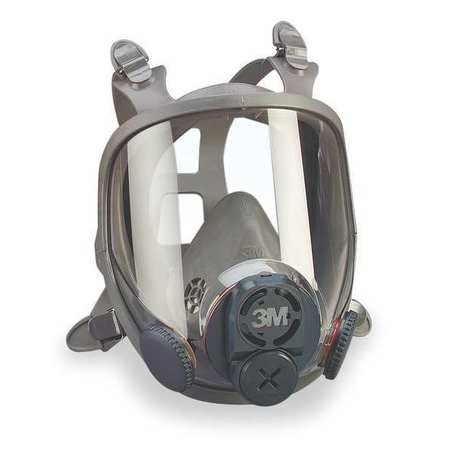 Full Face Respirator, S,  6000 Series