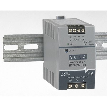 DC Power Supply, 10-12VDC, 3-2.5A, 43-67Hz