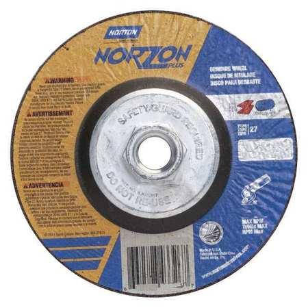 Depressed Ctr. Wheel, T27, 5in, 5/8in-11
