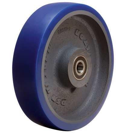 Caster Wheel, Polyurethane, 8 in., 1200 lb.