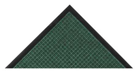 Carpeted Entrance Mat, Hunter Green, 3x5ft