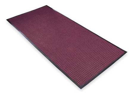 Carpeted Entrance Mat, Burgundy, 4ft.x6ft.