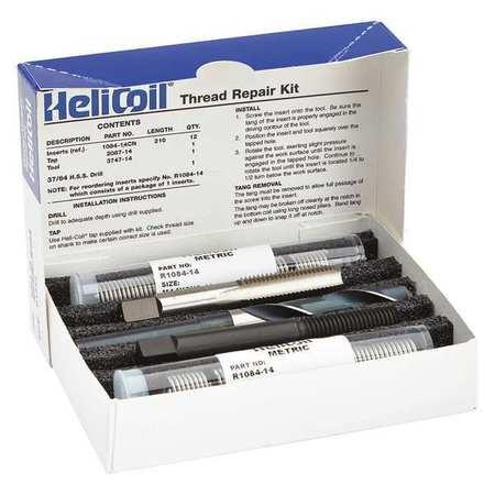 Thread Repair Kit, 304 SS, M14x2, 12 Pcs