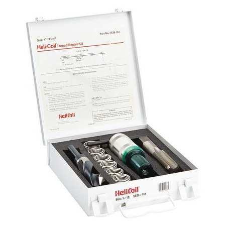 Thread Repair Kit, 304 SS, 1-12, 6 Pcs