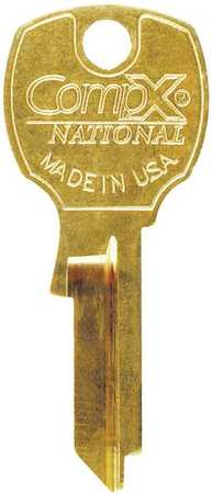 Key Blank,  For C8710 - C8735 Locks