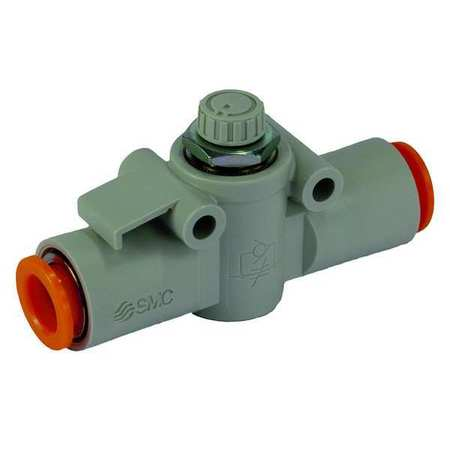 Speed Control Valve, 1/4 In Tube, 1/8 In