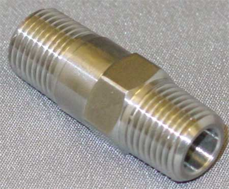 "1/8"" MNPT Stainless Steel Piston Spring Check Valve"