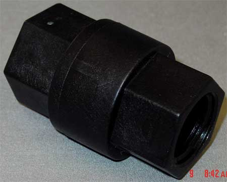 Ball Cone Spring Check Valve, 3/4 In.