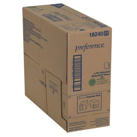 Georgia Pacific Toilet Paper Preference 2ply Pk40 18240