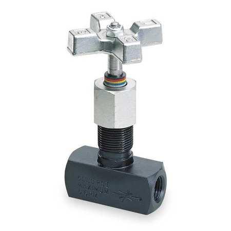 Metering Valve, Steel, #8 SAE, 8 GPM Max
