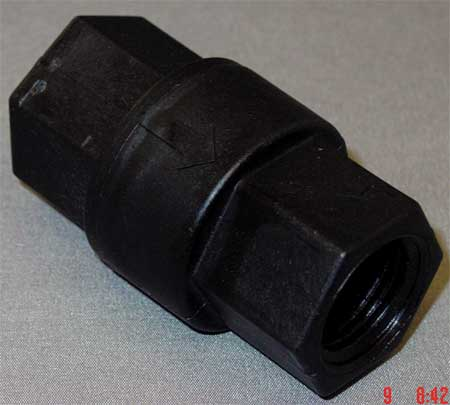Ball Cone Spring Check Valve, 1/2 In.