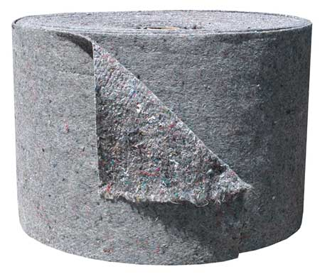 Absorbent Roll, Gray, 60 gal., 20 In. W