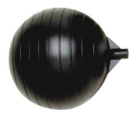 Float Ball, Round, Polyethylene, 6 In