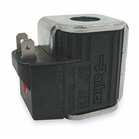Cartridge Valve Coil, 24 VDC, Double Spade