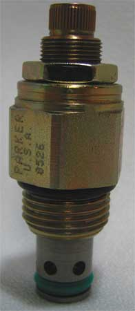 Cartridge Valve, PO Relief, 20 GPM