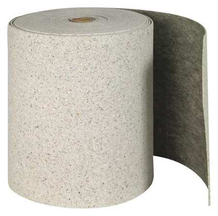 Absorbent Roll, Gray, 62 gal., 28-1/2 In. W