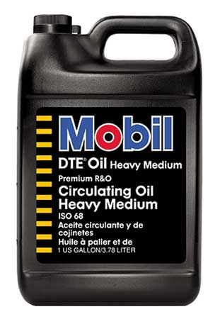 Mobil DTE Heavy Medium,  ISO 68,  1 gal.