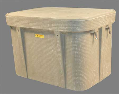 "Undrground Enclosure, 15, 000 lb., 22-1/4""W"