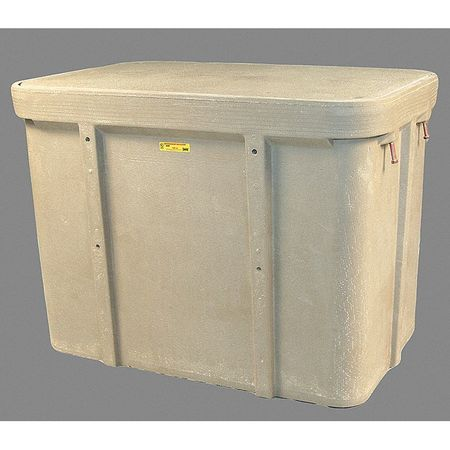 "Undrground Enclosure, 15, 000 lb., 45-5/8""L"