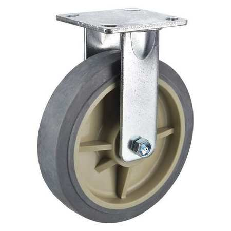 Zoro Select 1Nwt2 Caster Brake Kit,Grip Lock,8 In