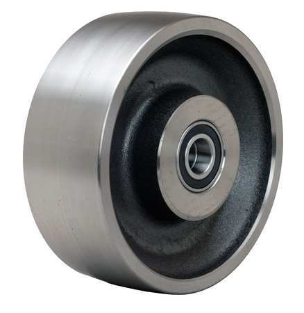 Caster Wheel, Steel, 8 in., 7000 lb.