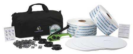 Strapping Kit, Polyester, 1312 ft. L