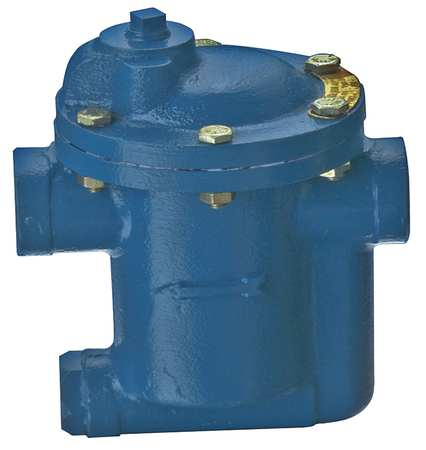 Steam Trap, 450F, Cast Iron, 0 to 80 psi