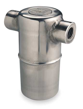 Steam Trap, 400 psi, 800F, 4-5/16 In. L