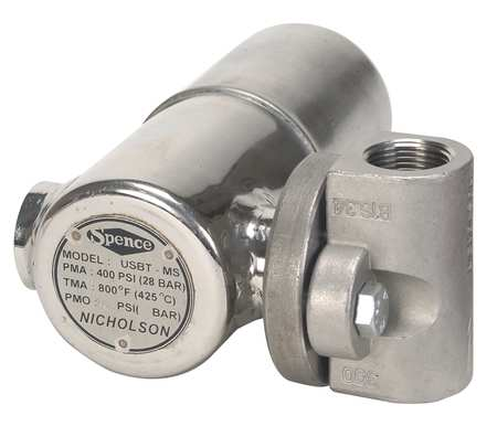 Steam Trap, 200 psi, 800F, 4 In. L