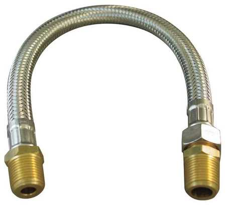 Flexible Hose Assy, 3/4 In, 12 In L, EPDM