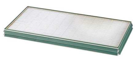 "Mini-Pleat Air Filter w/ Gasket,  20x25x2"",  MERV 11"