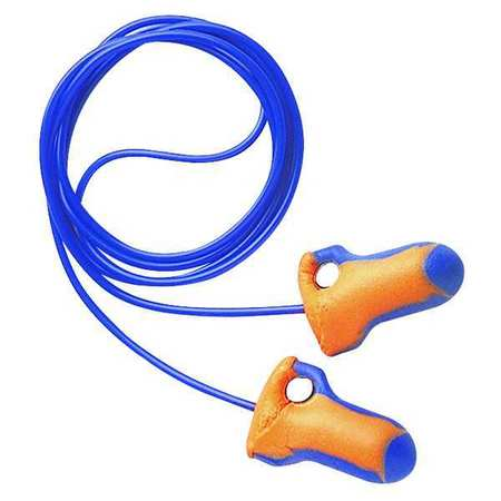 Reusable Ear Plugs, 32dB, Corded, Met Det, Univ, PK100