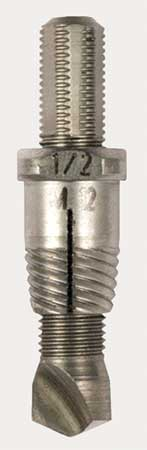 Drill/Extractor Tool, 1/4 In Size/Cap