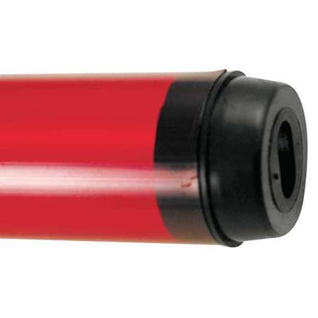 Safety Sleeve, T5 Lamps, Red, 45 3/16 IN,  Min. Qty 24