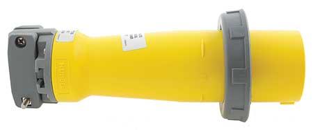 Pin and Sleeve Plug, 3P, 4W, 100A, 250V