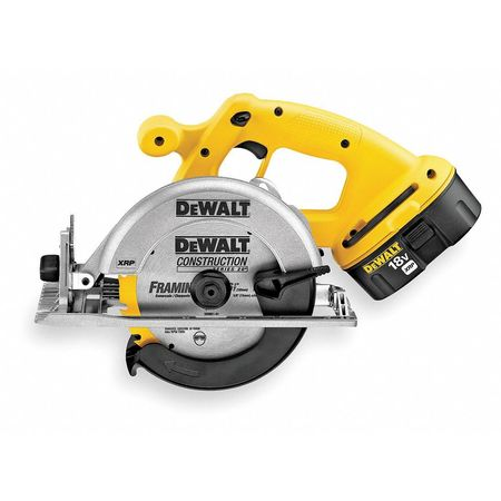 Cordless Circular Saw Kit, 18V, 6-1/2 In, L