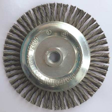 "Stringer Wheel,  6"" D,  Steel,  0.023 Wire"