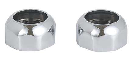 Rod Flanges, Zinc, PK2
