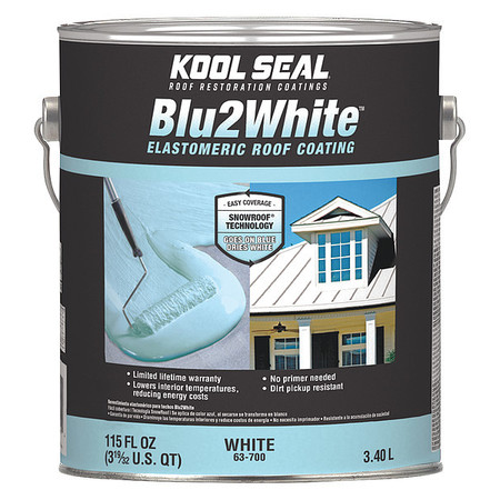 Premium Roof Coating, White, 4.75 gal.