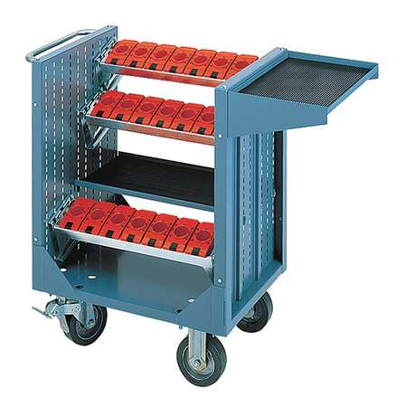 Tool Transporter, Steel, 36-1/2 In. H