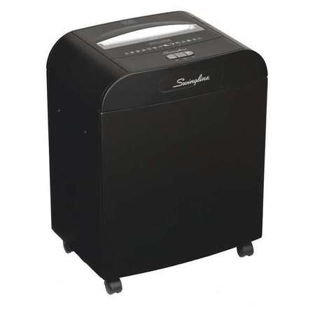Paper Shredder, 1/16x1/2in, 11 Sheets
