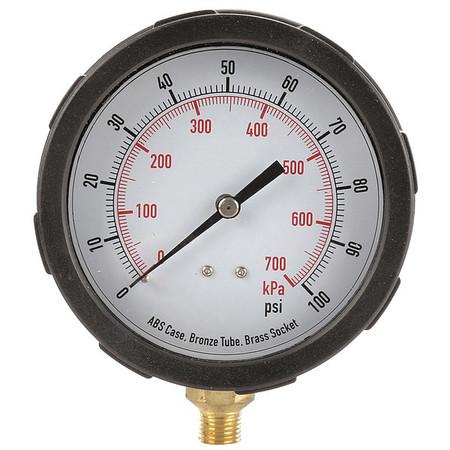 Pressure Gauge, Test, 4 In