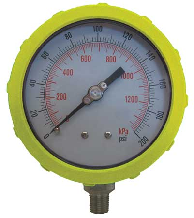 Pressure Gauge, Test, 4 In