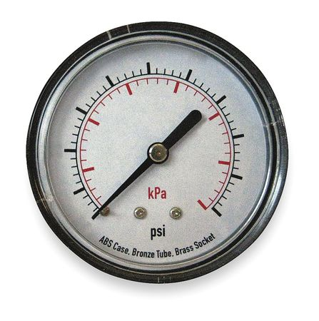 Pressure Gauge, Test, 2 In