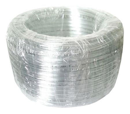 Tubing, 3/16 I.D., 100 ft., Clear, Flexible