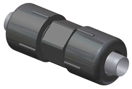 Full Coupling,  3/4 IPS,  Polyamide 11