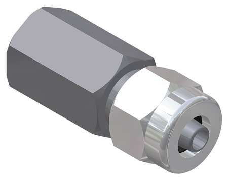 Female Adapter, 3/4 x 1/2 In.NPT x Tube