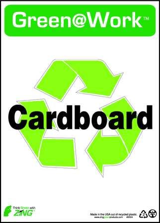 Environmental Awareness Sign, 14 x 10In