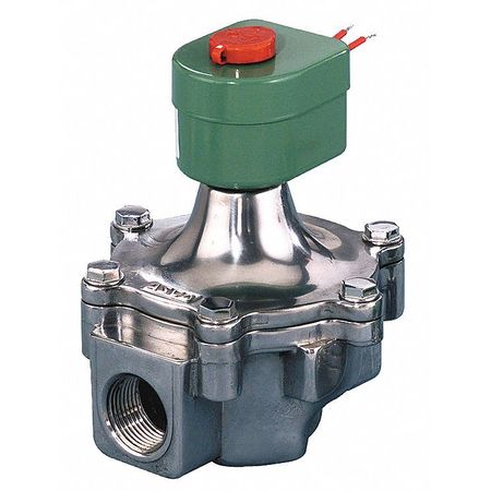 "2-1/2"" NPT 2-Way Air & Fuel Gas Solenoid Valve 120VAC"