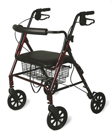 Heavy Duty,  400 Lb Bariatric Rollator